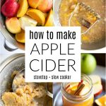 Homemade Apple Cider Recipe (Stovetop + Slow Cooker) Pinterest Pin Image